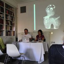 Lecture @Sainsburry Institute with an artist Kazz Morohashi.